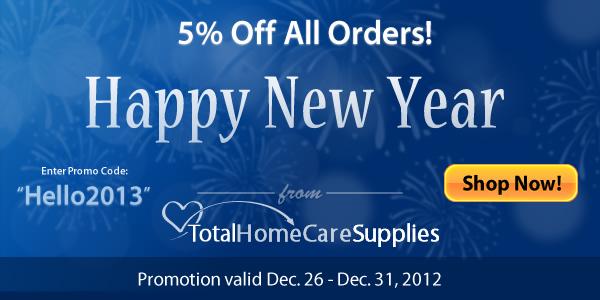5% Discount TotalHomeCareSupplies