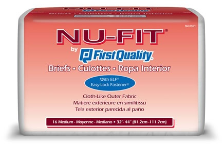 First Quality NuFit Adult Briefs