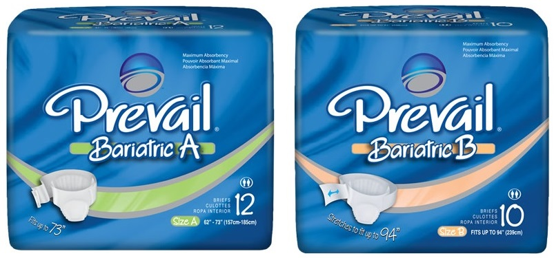 First Quality Prevail Bariatric Adult Briefs