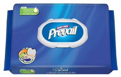 WW710 Prevail Adult Washcloths