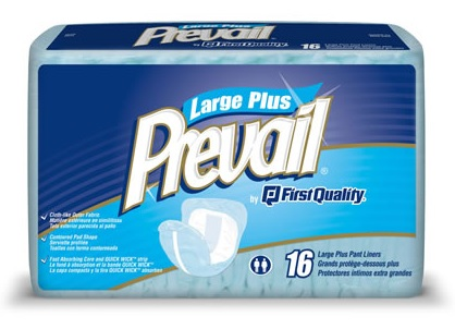 Prevail Pant Liners on sale at Total Home Care Supplies