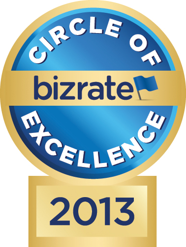 2013 Bizrate Circle of Excellence Award