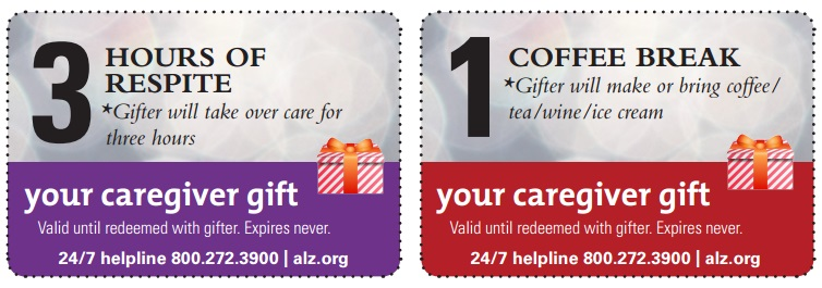 Caregiver Coupons