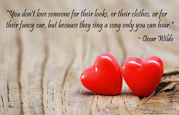 Happy Valentine's Day from Total Home Care Supplies