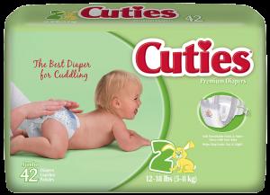 CutiesBabyDiapers