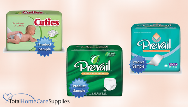 Information and links for diaper samples.