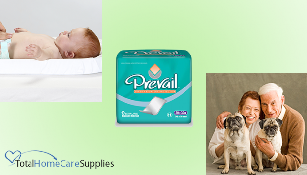 Using chux for babies and pets
