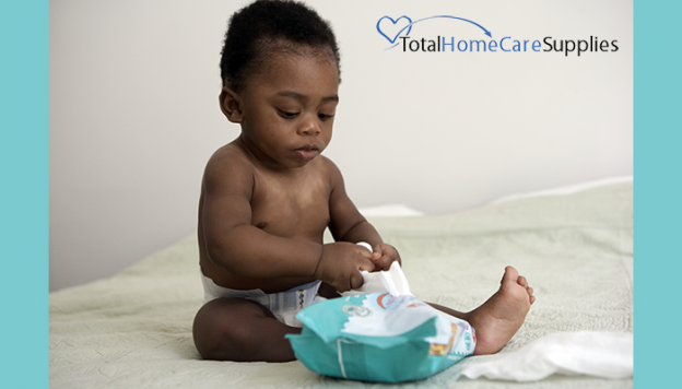 Troubles when diapering infant